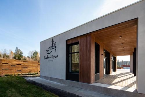 Клубный дом в Еловый ручей. Club village