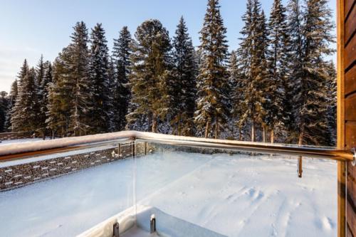 Вид со 2 этажа Пунаринта (Участок 4)
